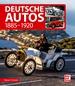 Deutsche Autos  - 1885-1920
