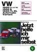 VW 1500/1500 S/1600/TL/EL Automatic / Variant - bis Juli '66  // Reprint der 10. Auflage 1972