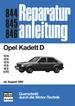 Opel Kadett D  ab 8/81  - 12N/ 12S/ 13N/ 13S / 16S / GTE