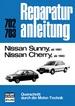 Nissan Sunny ab 1981 // Nissan Cherry ab 1983 - Reprint der 12. Auflage 1983