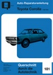 Toyota Carolla 1100 / 1200  - Reprint der 1. Auflahe 1972