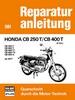 Honda CB 250 T / CB 400 T - CB 250 T / CB 400 T - T1 - T2 -A  ab 1977  //  Reprint der 9. Auflage 1979