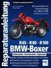 BMW Boxer R65, R80, R100 - Zweiventil-Boxer mit Einarmschwinge von 1980 bis 1996