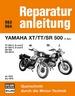 Yamaha XT / TT / SR 500 (1 Zyl.) ab 1975 bis 1979 - TT und XT 500 C,D,E // SR 500, 500E  // Reprint der 9. Auflage 1986